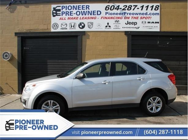 2015 Chevrolet Equinox LS   - AWD - Bluetooth - Local - Low KMS