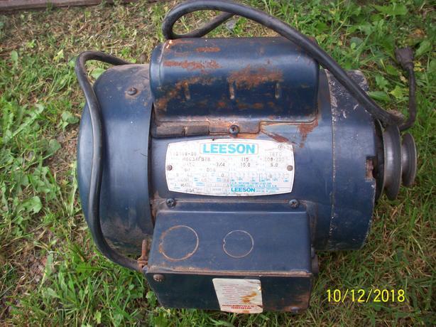 """ Leeson "" Electric Motor"
