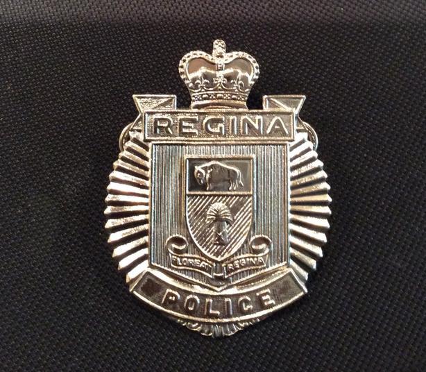 Vintage Regina Police cap badge