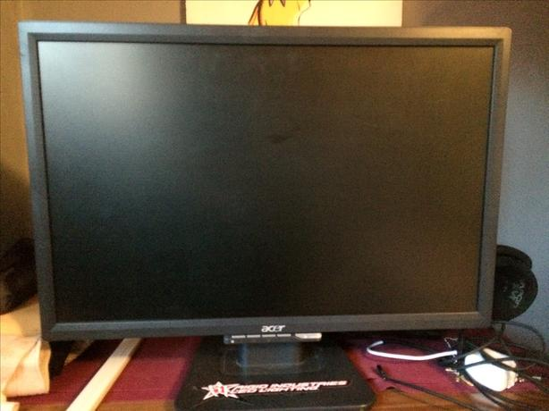 """Acer 22 """" monitor"""