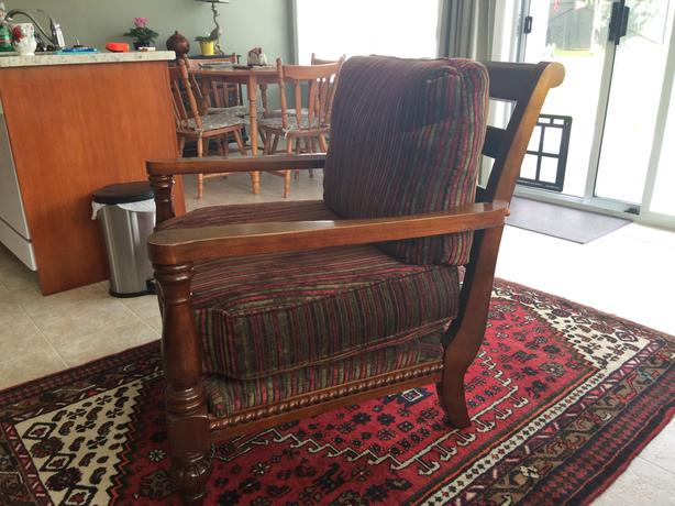 Living room chair for sale.