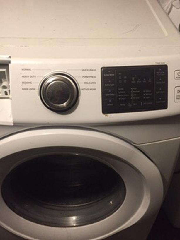 Samsung digital washer manufactured in 2010
