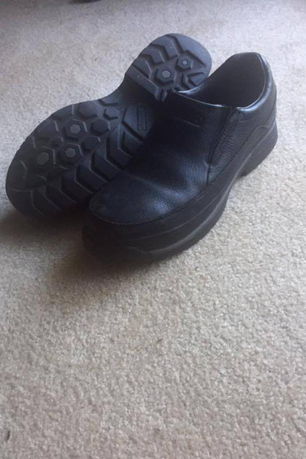 MENS EXCELLENT CONDITION STEEL TOE