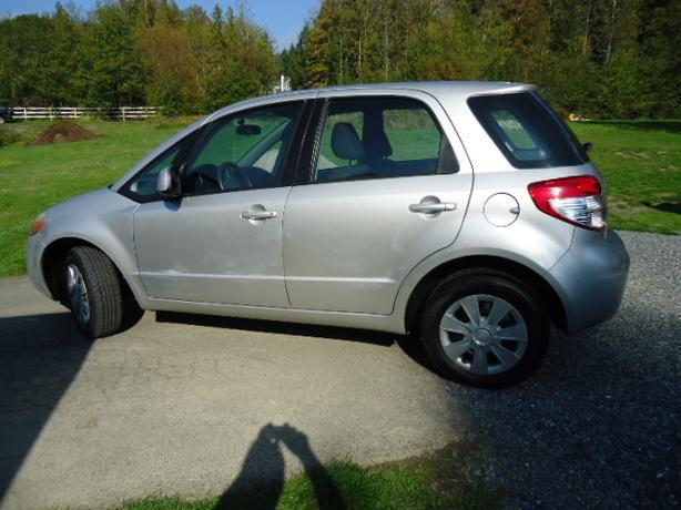 2007 Suzuki SX4 AWD Automatic Hatchback