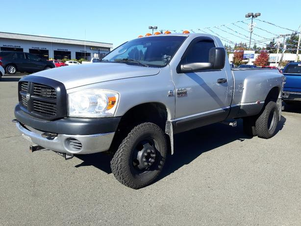 USED 2007 DODGE RAM 3500 ST 4X4 MANUAL DUALLY FOR SALE IN PARKSVILLE
