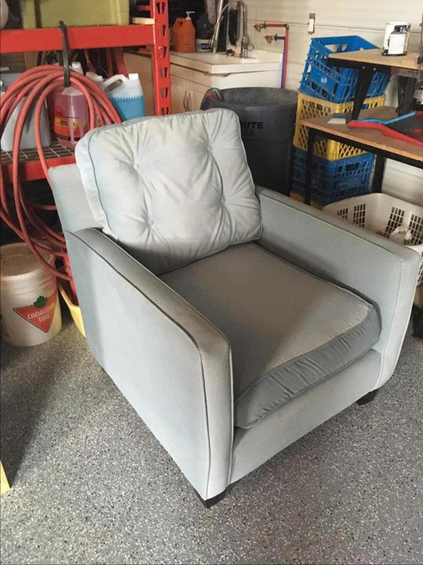 Large Plush Chair