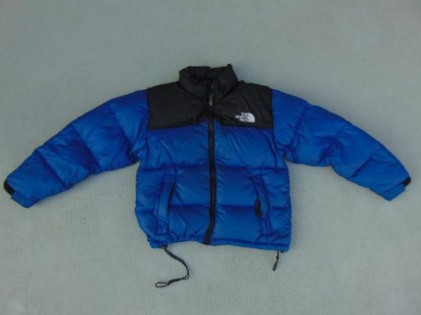 0337ff426  Log In needed $65 · Winter Coat Child Size 6-7 The North Face  Snowboarding Black Blue 600 Goose Down
