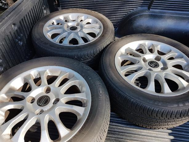 Volvo tires and rims. Will consider reasonable offers