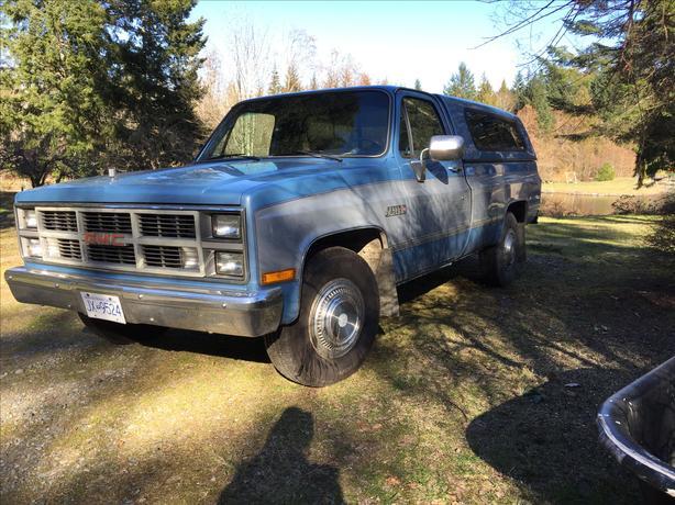 1984 GMC 3/4 ton Camper special.