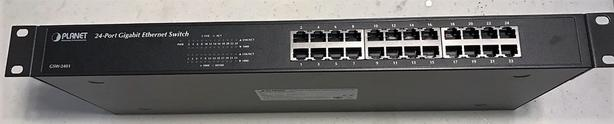 24-port gigabit ethernet network switch