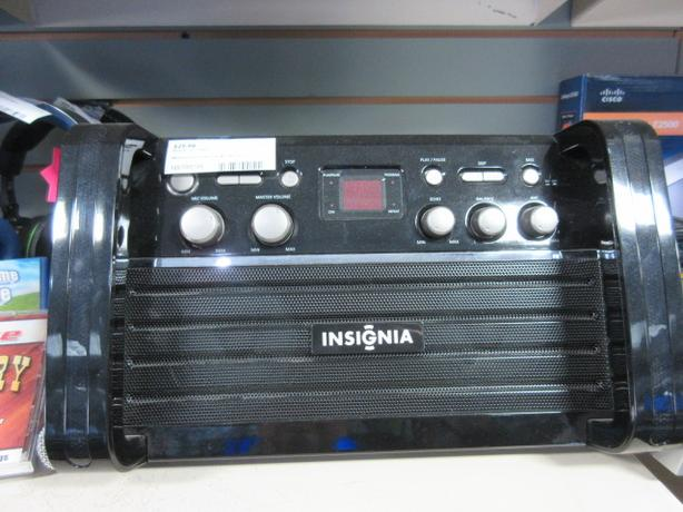 Insignia - CD+G Portable Karaoke System - **MoneyMaxx**