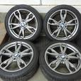 OEM BMW 436M wheels, Michelin Alpin PA3 winter tires - PERFECT