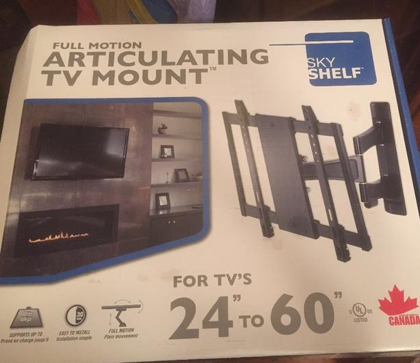 FULL MOTION Articulating TV Mount