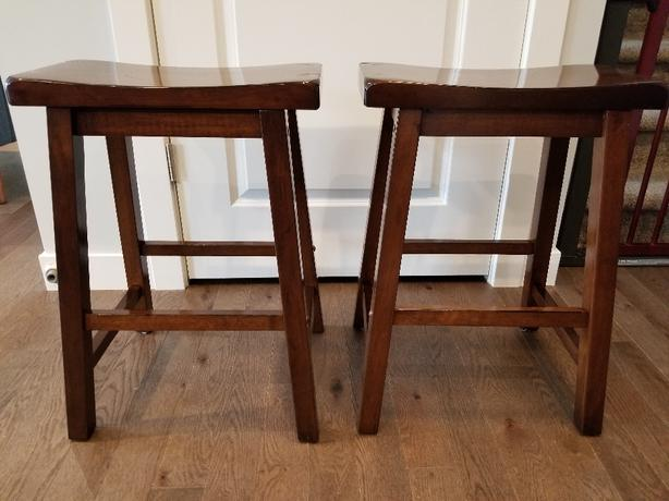 Stools (Counter Height, solid wood)