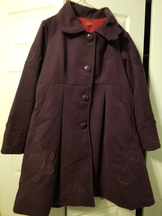 Womens wool blend coat - XL REDUCED