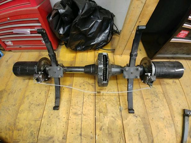 Cycle X Trike Rear End