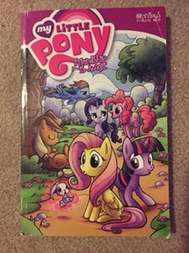 Brand new never been read My Little Pony graphic novel