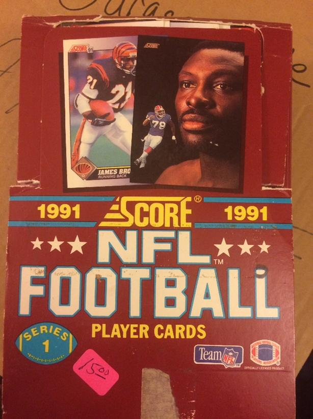 1991 Score NFL/NHL