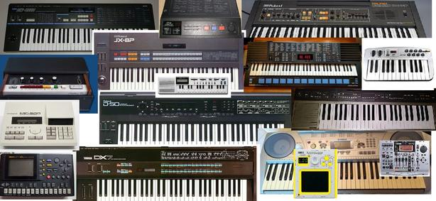 STUDIO EQUIPMENT FOR SALE keyboards, synthesizers vintage