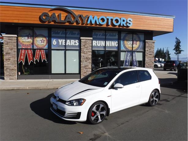 Galaxy Motors Courtenay >> 27 900 2015 Volkswagen Golf Gti Autobahn