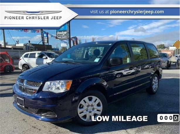 2016 Dodge Grand Caravan CVP Canada Value Package  -Low Mileage