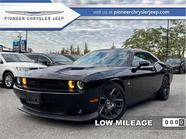2016 Dodge Challenger Scat Pack  -Leather Heated Seat -Sunroof