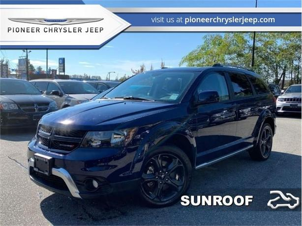 2018 Dodge Journey Crossroad  -Nav  -Leather Seats -DVD