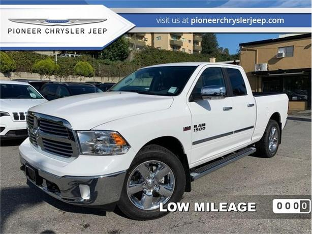 2017 Ram 1500 Big Horn  -Uconnect 8.4  -bed linear