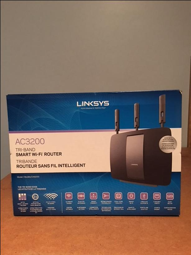 Linksys AC3200 Tri Band Smart Wireless Router