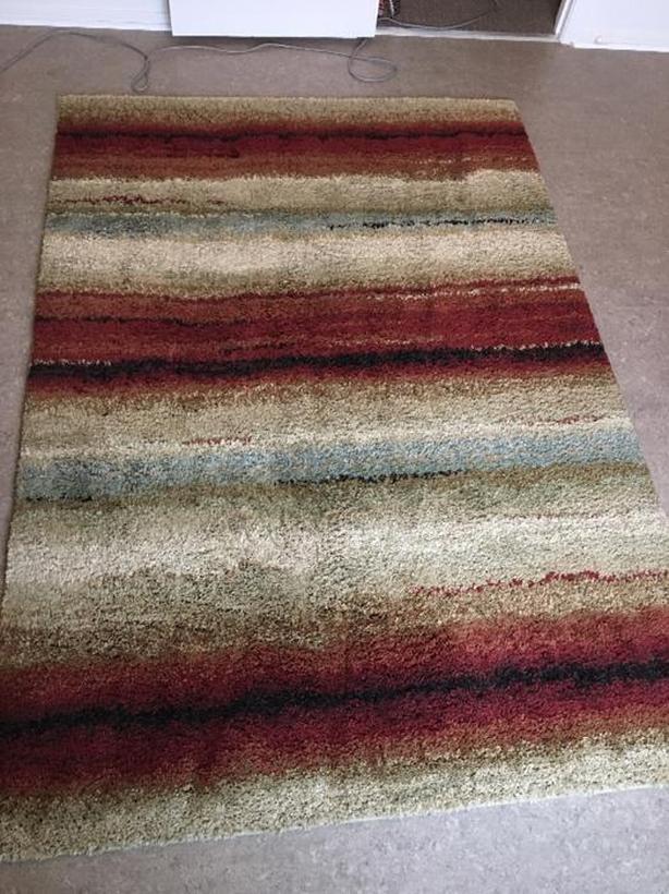 """Carpet, Shag, 63"""" x 90"""""""