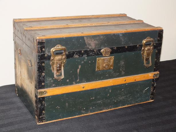 Antique Child's Steamer Trunk