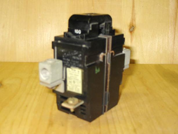 ITE Bulldog Pushmatic 100 Amp, 2 Pole, 240 Vac Main Circuit Breaker ~ Rare!