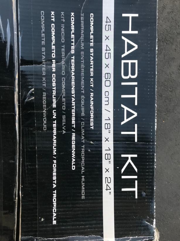 Exo Terra Tall Terrarium Kit And Stand Esquimalt View Royal Victoria