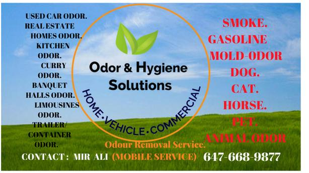 HAVE YOU GOT ODOR ( FUNKY SMELL ) IN YOUR CAR/TRUCK/HOME
