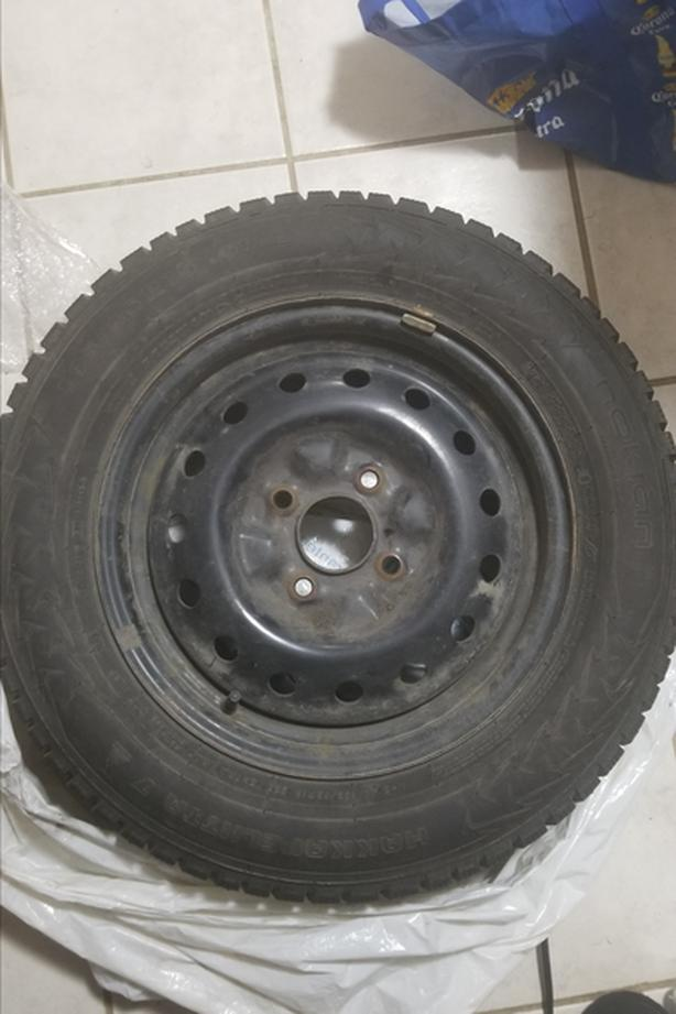 Winter Tires for car, studded