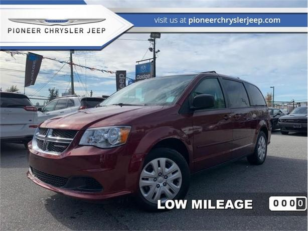 2017 Dodge Grand Caravan SXT  -Stow N Go