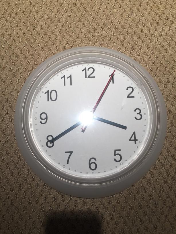 Ikea clock