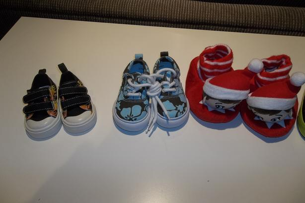 Gymborre Gap shoes and Elf slipper for kids (3 for $20.00)