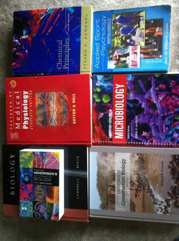txt books for sale links in description Burnaby (incl  New