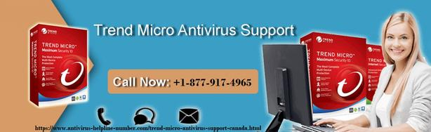 Contact Official Support for Trend Micro Antivirus +1-877-917-4965