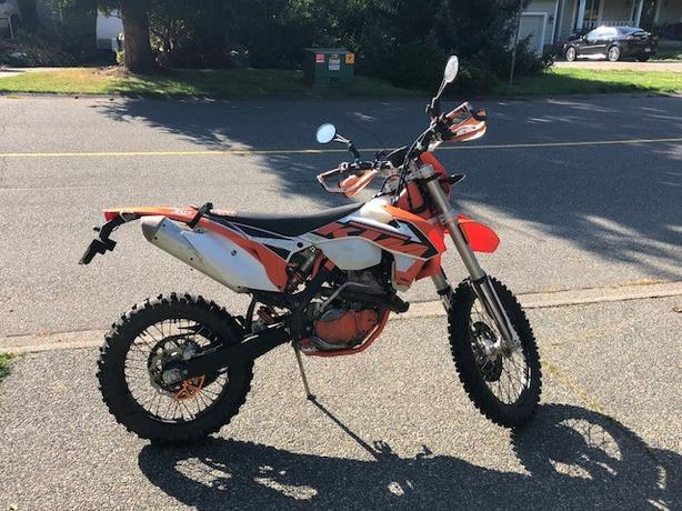 2016 KTM Exc-f low hours
