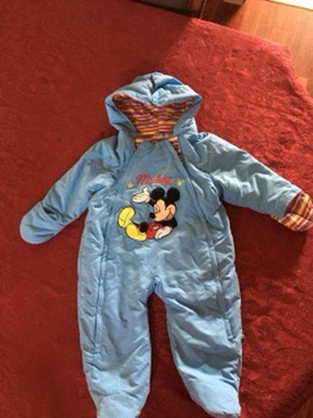 Mickey Mouse Baby Coat Snow Suit
