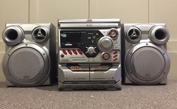 JVC CD & Cassette Player