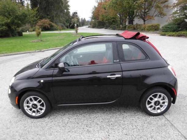 2012 Fiat 500 C Pop CONVERTIBLE 2-DR