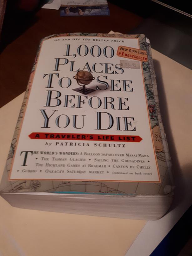 WorldBestselling Travel Book 1000 Places to See Before you Die