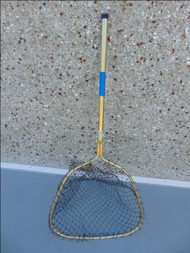 Fishing Adventures Ranger Landing Net 20 x 18 inch Excellent