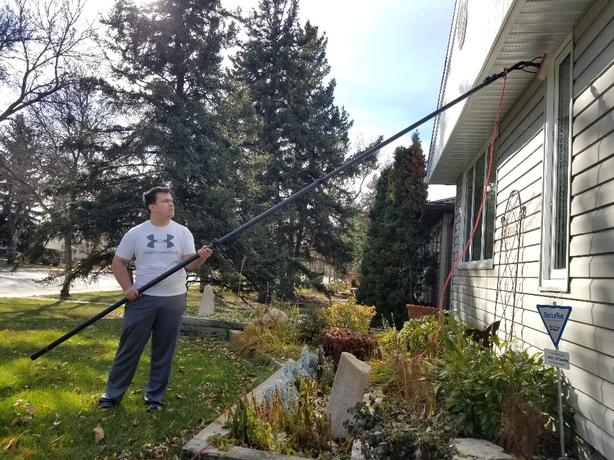 Father & Son Spring Window Washing (No ladders)