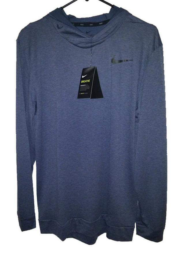 NWT Men Hooded Nike Shirt M