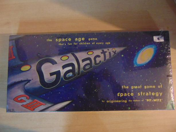 Galactix Space Age Game New Sealed In Box Age  2- 4 Players Age 14+