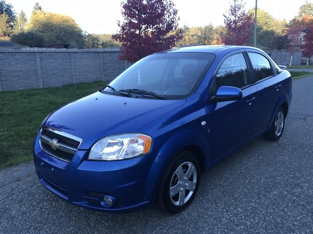 2008 Chevrolet Aveo Lt Automatic Sunroof Duncan Cowichan